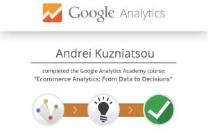 Portfolio for Google Analytics Customization